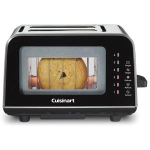 Cuisinart ViewPro Glass 2-Slice Toaster (ARV $59.99)