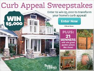 Curb Appeal Sweepstakes