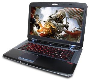Cyberpower Fangbook Evo HX7-100 gaming laptop