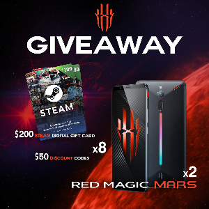 Contest: *** Win a Red Magic Mars Gaming Phone, $200 Steam Digital