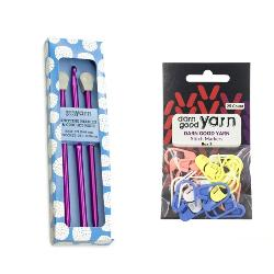 Darn Good Yarn Stitch Markers and Hook Set Giveaway
