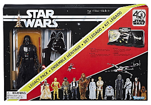 Darth Vader: Star Wars The Black Series 40th Anniversary Legacy Pack