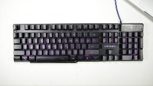 DBPOWER LED lighted keyboard