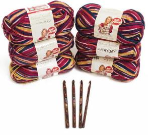 Deborah Norville Everyday Yarn and Hook Set Giveaway