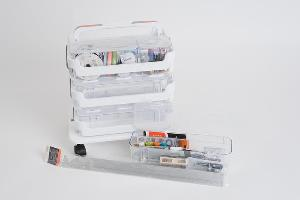 Deflecto Stack n' Go Storage and Supplies