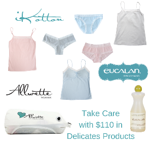Delicate products safe for sensitive skin and the environment