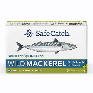 Delicious Safe Catch Wild Mackerel Giveaway