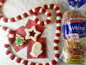 Dempster's Christmas Themed Sandwiches for Kids