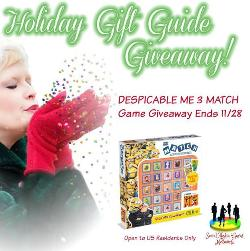 DESPICABLE ME 3 MATCH Game Giveaway!