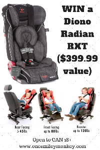Diono RTX Car Seat Giveaway