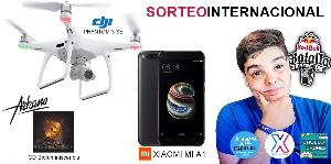 DJI Phantom 3 SE + Xiaomi Mi A1 + Arkano CD