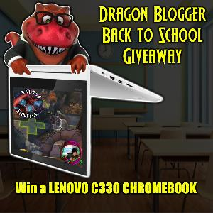 Dragon Blogger Back to School Giveaway