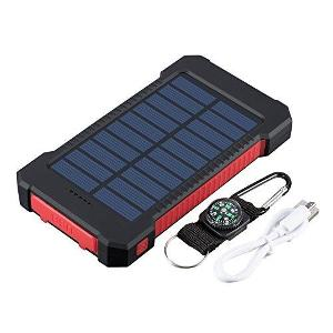 Dual USB Portable Solar Battery Charger Universal Solar Power Bank for Phone