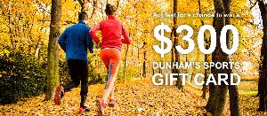 Dunham Sports Gift Card Giveaway