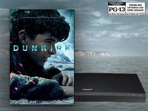 DUNKIRK on Digital, plus a new 4K Ultra HD Blu-ray™ Player with built-in WiFi