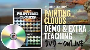DVD & MINI COURSE Painting CLOUDS