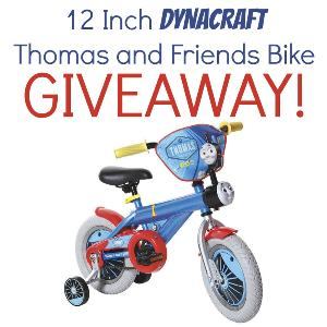 Dynacraft Thomas and Friends Bicycle Giveaway