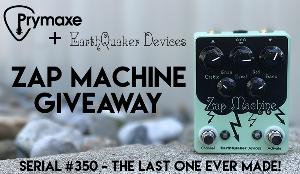 EarthQuaker Devices Zap Machine Overdrive