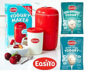EasiYo Yogurt Maker Giveaway!