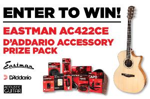 Eastman AC422CE + D'Addario Prize Pack