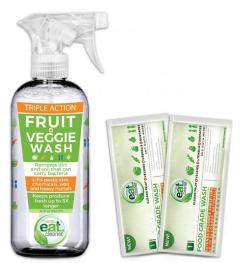 eatCleaner Fruit and Veggie Wash Spray Giveaway