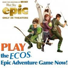ECOS Epic Adventure Game Sweepstakes