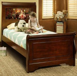 Edgewood Twin LightHeaded Bed with HeadLightz Image