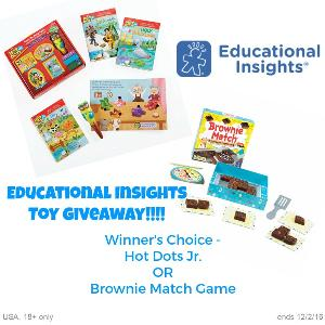 Educational Insights Toys Giveaway