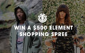 ELEMENT SHOPPING SPREE SWEEPS