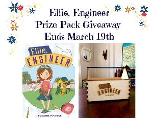 Ellie, Engineer [hardcover] book and diy toolbox giveaway