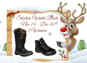 Enjoying the Holiday Weather with Skechers Giveaway