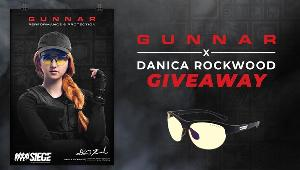 Enter for 1 of 5 chances to win:  1 x Signed Poster of Danica Rockwood & 1 x 6-Siege Ash Edition Glasses!