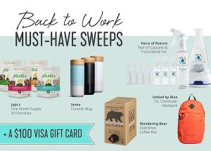 Enter for a chance to win $450 worth of must-haves to help you go back to work