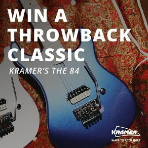 Enter for a Chance to Win Kramer's The 84 Guitar!