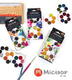 Enter for a chance to win this awesome prize bundle of watercolour art supplies from our friends at Micador! Includes: Micador For Artists 36 Brilliant Water Colour Discs, Rains Watercolour Paper, DL pack of 50, 907 Brush...+ more..
