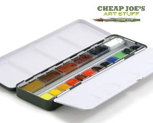 Enter for a second chance to win an 18 color American Journey Artists' Watercolor Voyager Set!