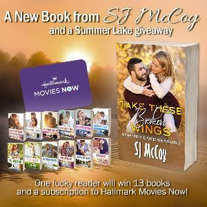 Enter for your chance to win 13 paperbacks form the Summer Lake book series and a subscription to Hallmark Movies Now!