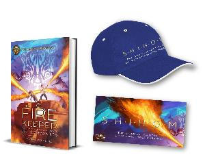 Enter for your chance to win: a copy of The Fire Keeper, plus a branded cap and bumper sticker.