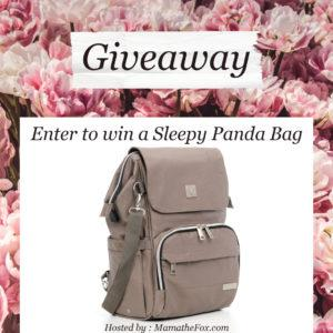 Enter for your chance to win a Kennedy Canvas Bag from Sleepy Panda!