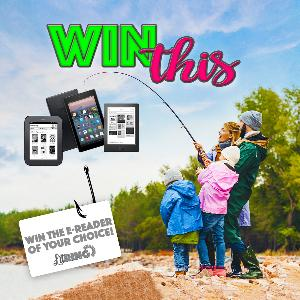 Enter for your chance to win a new eReader of your choice!