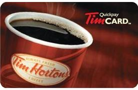 Enter now for a chance to win a $50 Tim Hortons gift card!
