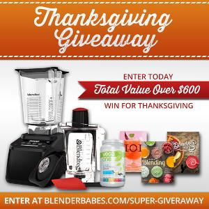 ENTER OUR THANKSGIVING SUPER GIVEAWAY!