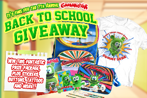 Enter the Gummibär Back To School Giveaway and you can WIN a Gummibär Back To School bundle worth more than $100