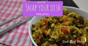 Enter the Snap Your Dish Challenge