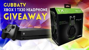 Enter this giveaway from GubbaTV and you could WIN:  XBox 1 TX30 Headphones!