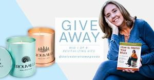 Enter to win 1 of 5 Revitilizing Kits for you and your home!