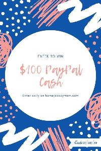 Enter to win $100 Paypal Cash!!