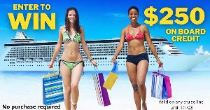 Enter to win $250 On Board Credit!