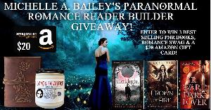Enter to win 3 Best selling PNR books,Romance swag & a $20 Amazon Gift Card!!