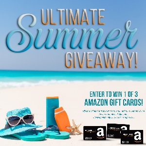 Enter to win $350 Amazon; $200 Amazon or $100 Amazon